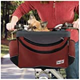 Snoozer Sporty Pet Bike Basket - Red SN-85004