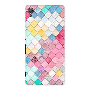 Ajay Enterprises Exant Pattern Rock Back Case Cover for Xperia Z3 Plus