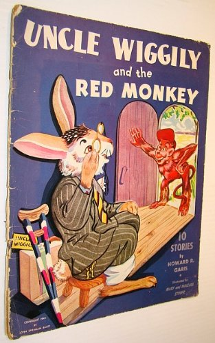 Uncle Wiggily and the Red Monkey, Garis, Howard R.