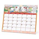 ハローキティ シートカレンダー 2017