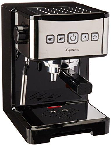 Capresso 124.01 Espresso Machine, Black/Stainless