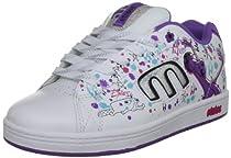 etnies Disney Callicut 2 Skate Shoe (Infant/Toddler/Litle Kid/Big Kid),White/Lavender,13 D US Little Kid