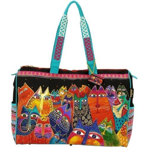 laurel-burch-travel-bag-zipper-top-21-inch-by-8-inch-by-16-inch-fantasticats