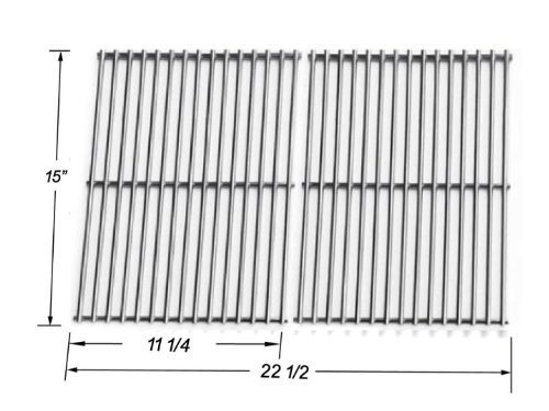 Replacement Stainless Steel Replacement Cooking Grid for Select Gas Grill Models By Weber 7521