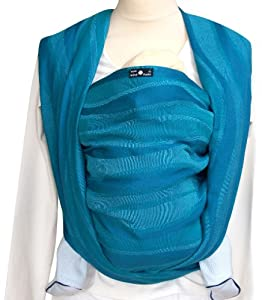 Didymos Baby Carrier Waves - Aqua, Size 6