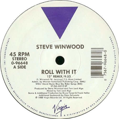 STEVE WINWOOD - Roll with It [12