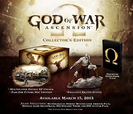 God of War Ascension: Collectors Edition (PS3)