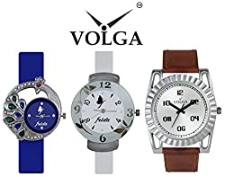 Volga Proffesional Watches For Men and Frida New Designer Lovely Watches For Gifts For Womens and Boys