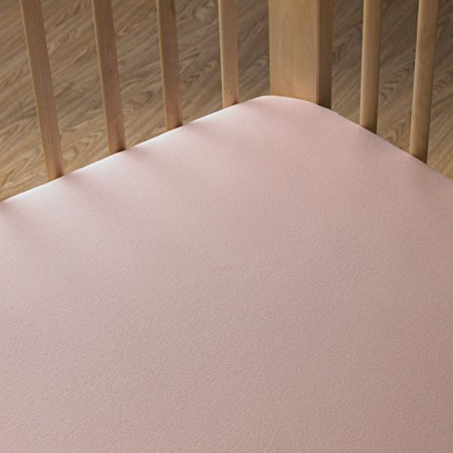Living Textiles Jersey Fitted Sheet, Pink