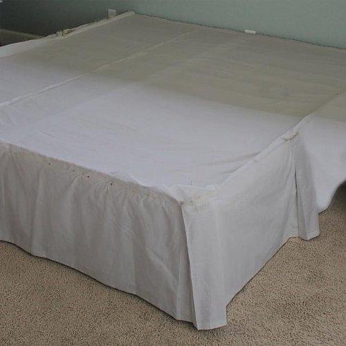 12 Inch Drop Bedskirt front-1079635