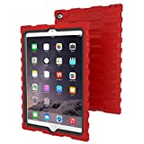 Hard Candy Cases iPad Air 2 Shock Drop Case, Red/Black (SD-iPad Air 2-RED/BLK)