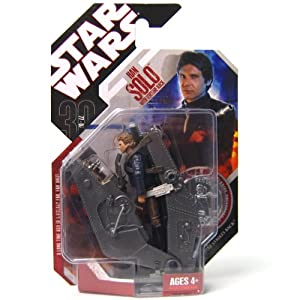 Star Wars 3.75 Basic Figure Han Solo with Torture Rack