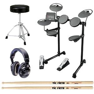 Yamaha dtx400k drum set complete basic bundle for Yamaha dtx400k accessories