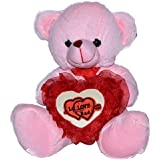 Toyzstation FL Teddy Bear With Love Heart Soft Toy For Valentine (26)