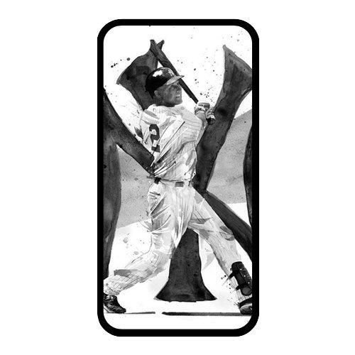 Derek Jeter Diy Iphone 4/4S Hard Case,Customized Case Un012877 front-203107