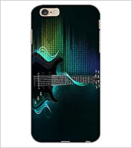 PrintDhaba Guitar D-2885 Back Case Cover for APPLE IPHONE 6S PLUS (Multi-Coloured)