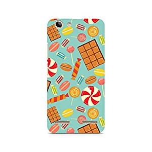 Ebby Chocolate and Candy Premium Printed Case For Lenovo K5 Plus