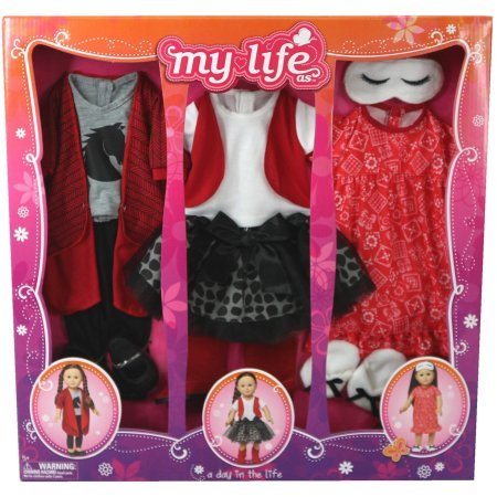 My Life As A Day in the Life Doll Clothing Set, Cowgirl (My Life Clothes compare prices)
