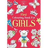 First Colouring Book For Girls (Buster Books)by Emily Golden Twomey