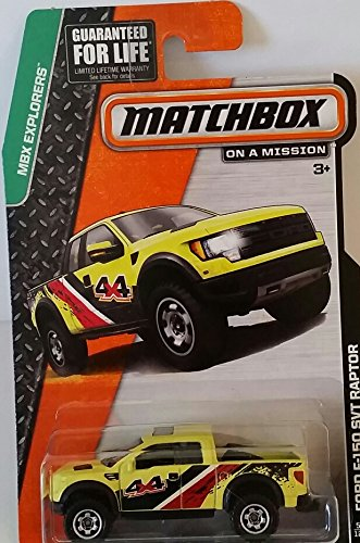 "Matchbox ""On a Mission"" - MBX Explorers - Ford F-150 SVT Raptor #57/120"