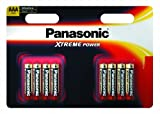Panasonic Xtreme Power AAA/LR03 Battery 8 Pack