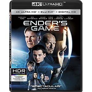 Ender's Game [4K ULTRA HD + Blu-ray + Digital HD]