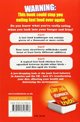 Fast Food Nation Book Cover ~ Children s books reviews chew on this bfk no