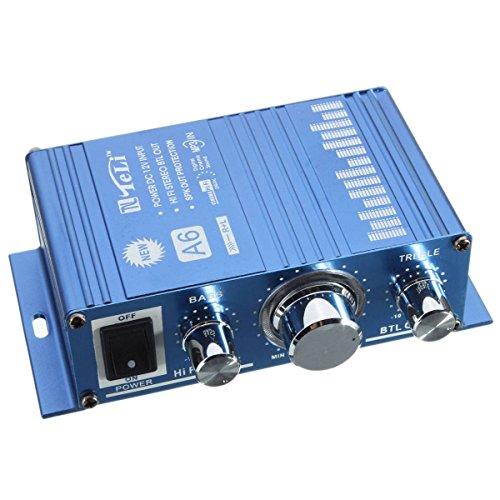 ELEGIANT 360W 12V Hi-Fi Audio Stéréo Amplificateur Amplis MP3 + Chargeur Pour Voiture Auto Moto