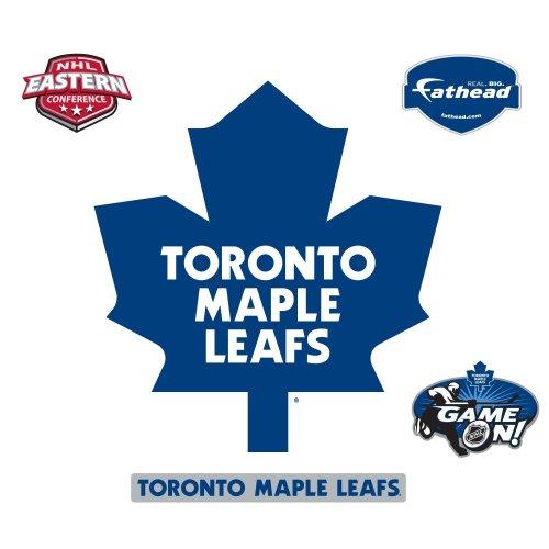 NHL Toronto Maple Leafs Logo Wall Decal