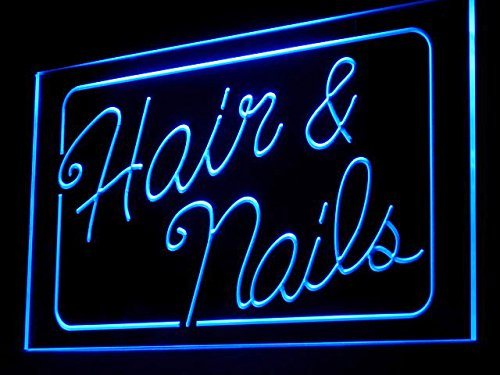 C B Signs Beauty Care Hair Nails Salon Led Sign Neon Light Sign Dispay