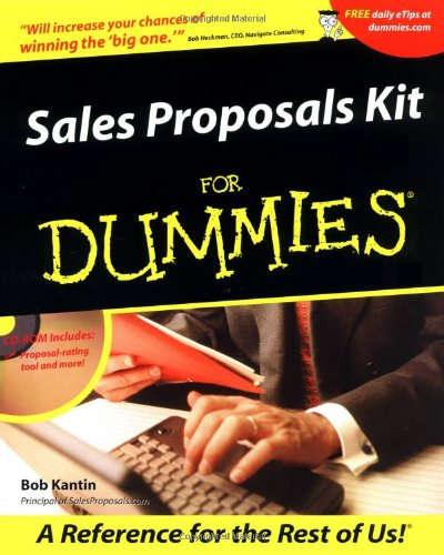 Sales Proposals Kit For Dummies