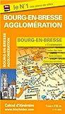 Plan de la ville de Bourg-en-Bresse et de son agglomération - Echelle : 1/11 000