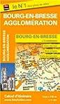 Plan de la ville de Bourg-en-Bresse e...