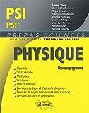 Physique PSI/PSI* Programme 2014