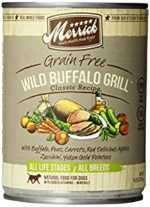 MERRICK PET CARE 12-Pack Wild Buffalo Grill Can For Dog, 13.2