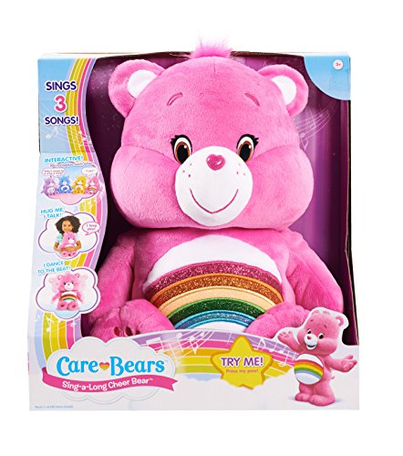 Care Bears Cheer Sing-a-Long Bear Plush (Lucky Care Bear compare prices)