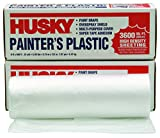 POLY AMERICA 03509H 9-Feet X 400-Feet .31 Mil High Density Painters Poly Film