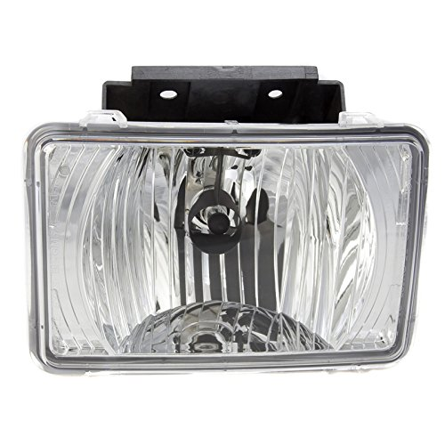 CarPartsDepot Front Bumper Fog Light Lamp RH=LH Fit 04-12 Chevrolet Colorado Truck GM2592135 (04 Chevy Fog Lights compare prices)