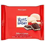 Ritter Sport Plain Chocolate with Marzipan Filling 100g