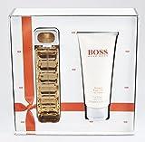 Hugo Boss ORANGE WOMAN Gift Set : 50ml Eau De Toilette EDT & 100ml Body Lotion