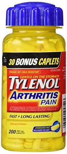 tylenol-arthritis-pain-200-caplets-bottle-650mg-acetaminophen