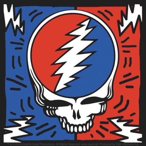 Licenses Products Grateful Dead SYF Bolts Sticker