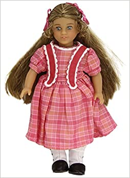 American girl book set with mini doll
