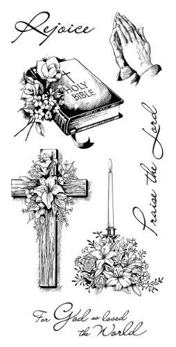 Inkadinkado Spiritual Sketches Clear Stamps
