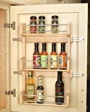 Rev-A-Shelf in. Door Mount Spice Rack RS4SR.18 12.63