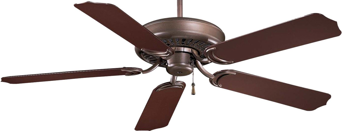 "Minka-Aire F571-ORB, Sundance 52"" Ceiling Fan, Oil Rubbed Bronze Finish with Dark Oak All Weather Blades"