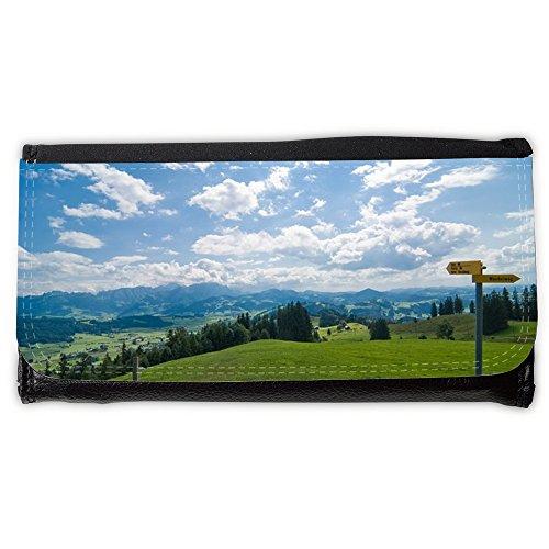 Cartera unisex // M00292838 Nuvole Alpi Escursionismo Cielo // Large Size Wallet
