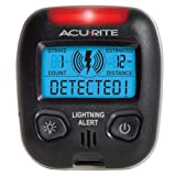 Acu-Rite 02020 Portable Lightning Detector