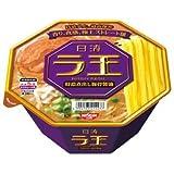 日清 ラ王 特濃煮出し豚骨醤油 131g×12個