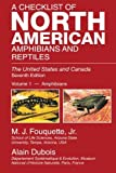 A  Checklist  Of  North  American Amphibians  And  Reptiles: The United States and Canada